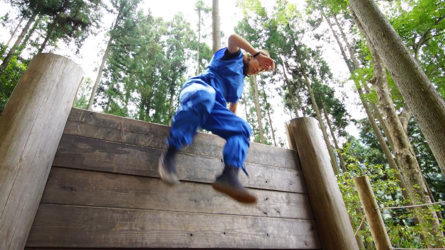 《登り術》壁登り修行